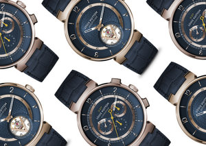Louis Vuitton's new Tambour watch reaches for the moon