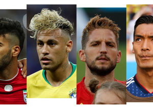 All the World Cup Haircuts: ranked