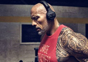 The Rock just launched headphones