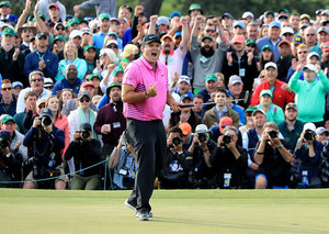 Patrick Reed on winning the US Masters' Green Jacket