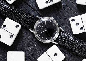 Timex and Todd Synder join forces for 'Blackout' watch