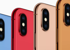 Blue, Orange and Gold iPhone Xs on the way