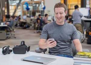 Mark Zuckerberg is now the 3rd richest man on Earth
