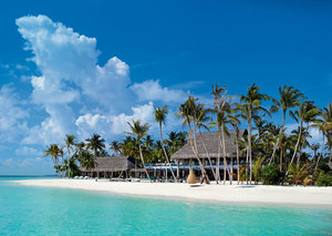 A (truly) private island paradise