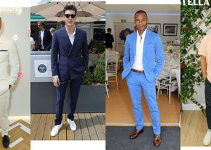 Best-dressed men at Wimbledon 2018