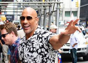 Dwayne Johnson has the perfect summer shirt