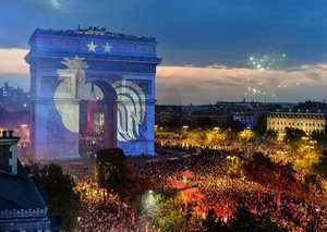 The best World Cup celebration pictures from Paris