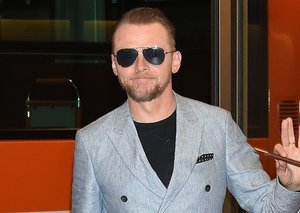 Simon Pegg just became a style icon (wait, what?)