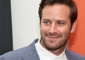 Armie Hammer has one simple move for a cooler suit