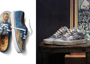 Vans and Van Gogh team up to put masterpieces on shoes