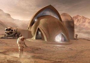 Here's what we'll be living in on Mars