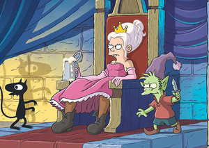 Matt Groening's 'Disenchantment' is a natural evolution of 'The Simpsons'