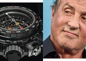 The Richard Mille x Sylvester Stallone RM25-01 is an insane tool watch