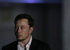 Someone needs to give Elon Musk a hug or something