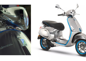 First all-electric Vespa has arrived; the Elettrica