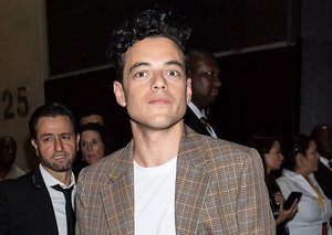 Rami Malek gives 'trenchcoat' style a new name