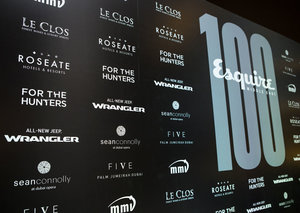 GALLERY: The Esquire 100 party