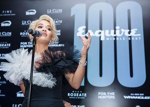 Rita Ora rocks the Esquire Middle East 100th party in Dubai