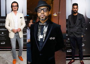 The best dressed men from the Esquire 100 party