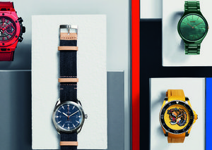 Five bold watches to brighten up your wrist