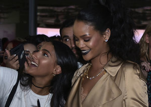 Inside Rihanna's Fenty Beauty party in the Burj Khalifa