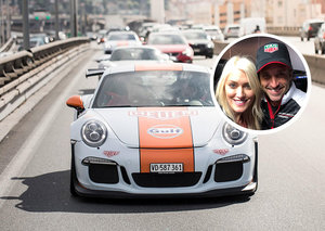 SupercarBlondie takes Patrick Dempsey on a ride to Le Mans