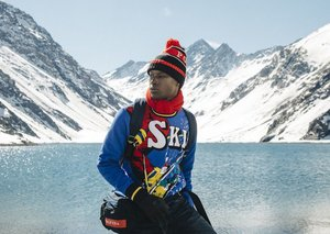 Ralph Lauren combines street-wear with ski-wear