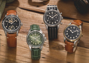 A closer look at Montblanc's new vintage-style military watches