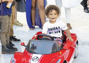 This celebrity two-year-old produced an album and has his own charity