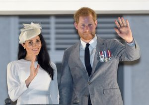 Is Prince Harry getting style tips from Megan?