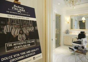 Go inside the Esquire Townhouse: Barberia Italiana