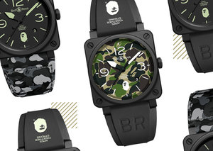 The Bell&Ross BR03-92 BAPE proves watch brands can do collabs, too