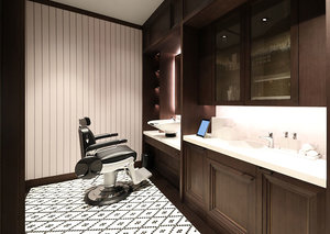 The Esquire Review: Dunhill barbershop in Dubai Mall