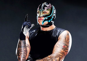 The many masks of WWE's Ray Mysterio Jr.