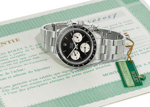 Sotheby's first watch auction made US$2.6 million