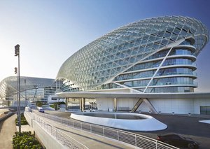 Yas Hotel Abu Dhabi: Esquire Does Travel