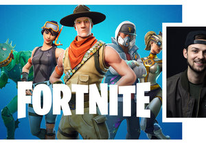 Hand-cannons at the ready: Ali-A is in town to play Fortnite