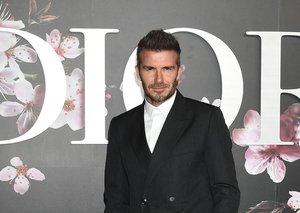 David Beckham has settled the suit v sneakers debate