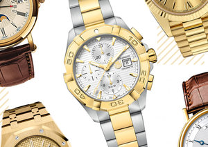 In defense of the yellow gold wristwatch