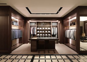 Inside the Dunhill boutique in Dubai Mall