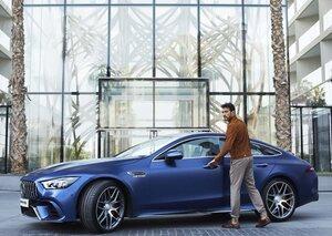 The new Mercedes-AMG GT 4-Door Coupé is here