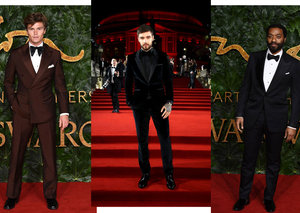 Best-dressed men at the Fashion Awards 2018
