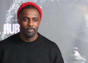 Idris Elba shows you how to wear logos