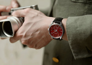 High-end camera maker Leica does watches now