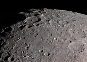 A spaceship has finally made it to the 'dark side' of the Moon