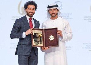 Mo Salah just won another big award in Dubai