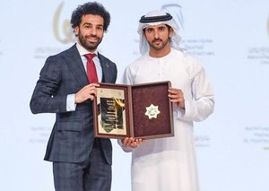 Mo Salah just won another big award in Dubai