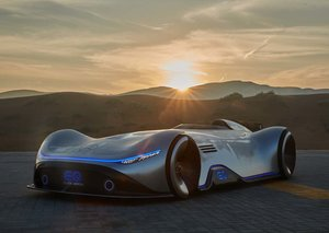 Mercedes-Benz Vision EQ Silver Arrow in pictures