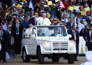 In Pictures: The Pope's visit to Abu Dhabi