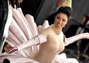 Watch Cardi B's performance at record-breaking Grammys